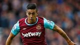 Manuel Lanzini of West Ham United