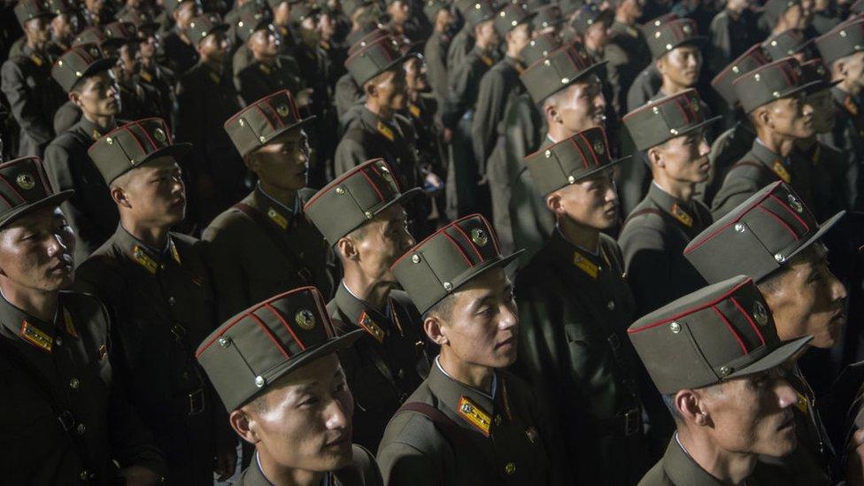 Ejército de Corea del Norte.