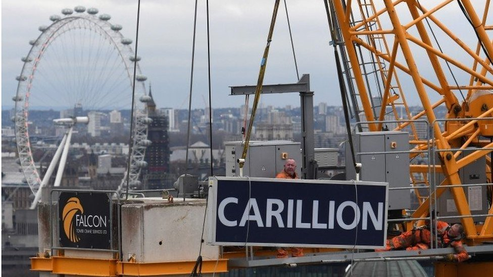 Carillion investors were 'fleeing for the hills'