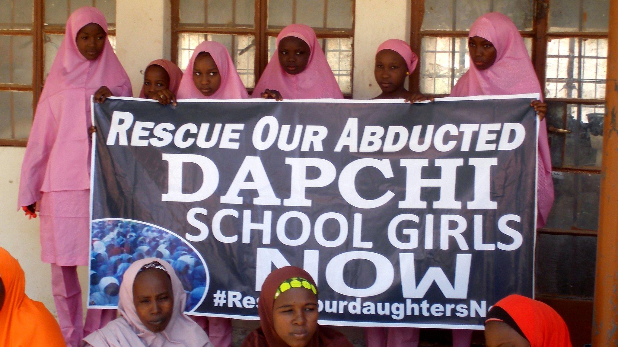 Kidnapped Dapchi schoolgirls freed in Nigeria