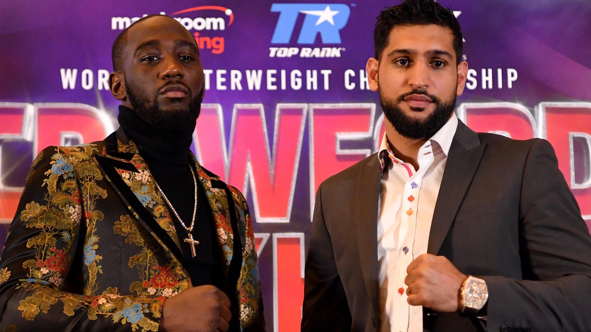 Khan v Crawford broadcast on BBC Radio 5 Live