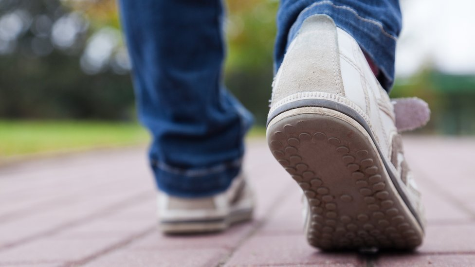Middle-aged told to walk faster
