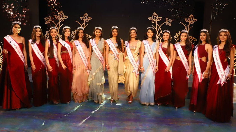 Miss India Contest Why Do All The Finalists Look The Same Bbc News