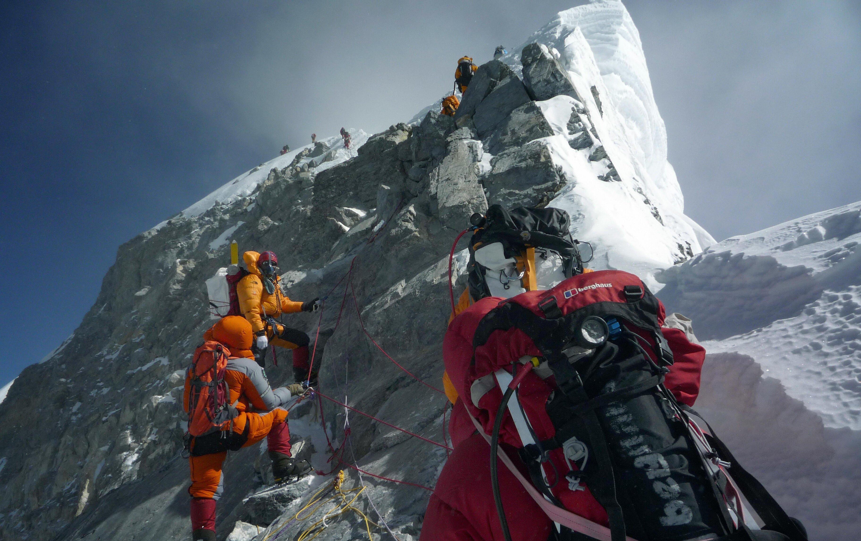 Desaparece del Everest la mítica roca Hillary