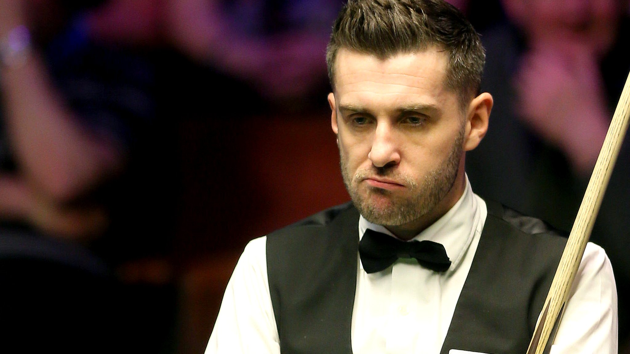 World Snooker Championship 2018: Mark Selby beaten by Joe Perry in first round