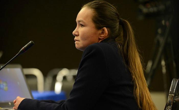Linda Loaiza (Foto cortesía de CEJIL)