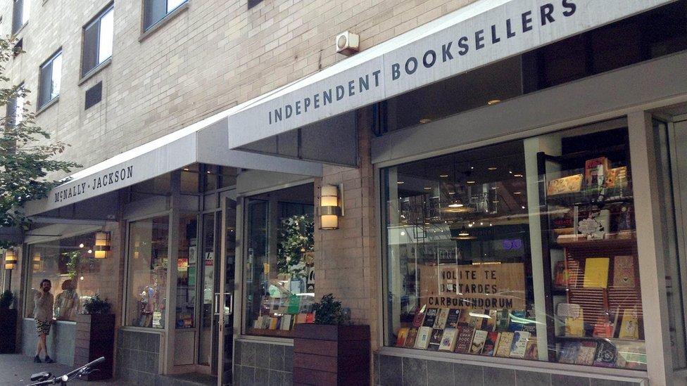McNally Bookstore (Pascual Brodsky/BBC Mundo)