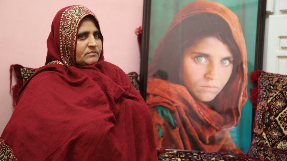 'Afghan girl' Sharbat Gula in quest for new life