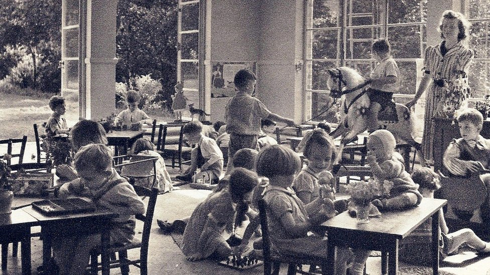 Bournville Infant School in 1955
