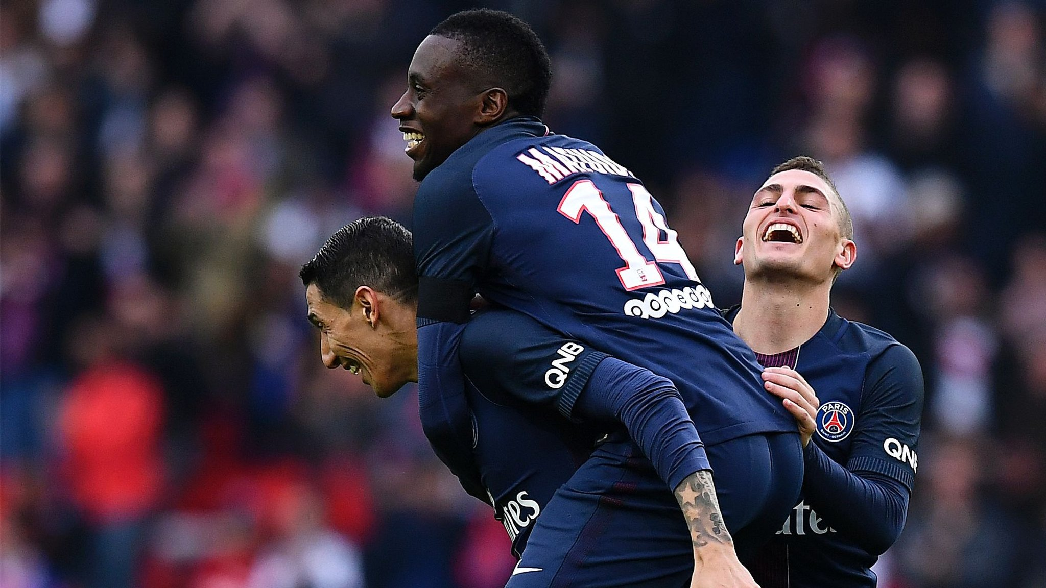 Champions Paris St-Germain go top in France