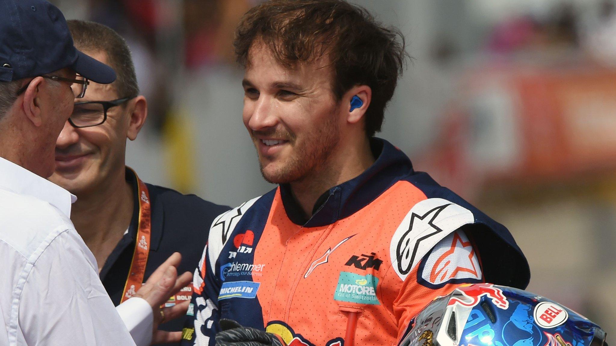 Sam Sunderland: British rider continues recovery after Dakar Rally injury