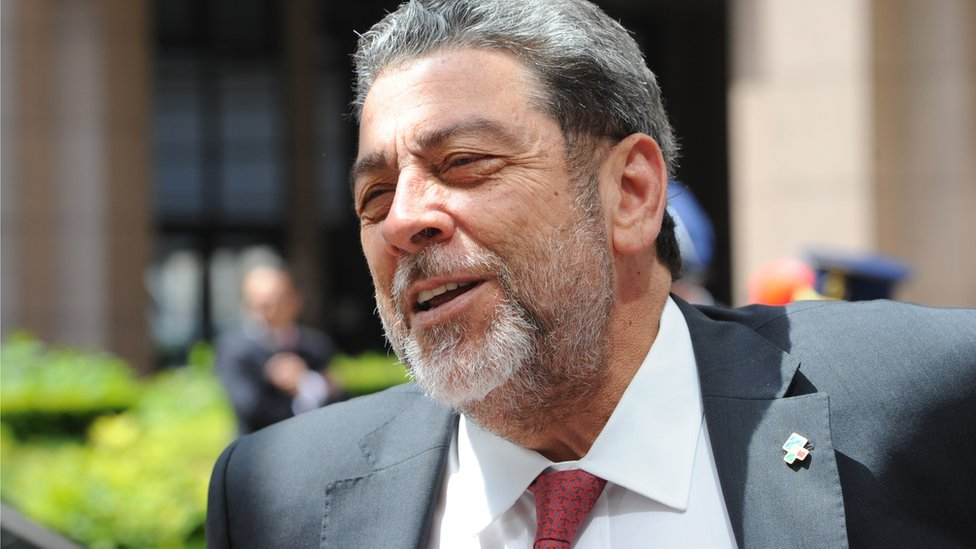 Prime Minister of St Vincent and the Grenadines Ralph Gonsalves