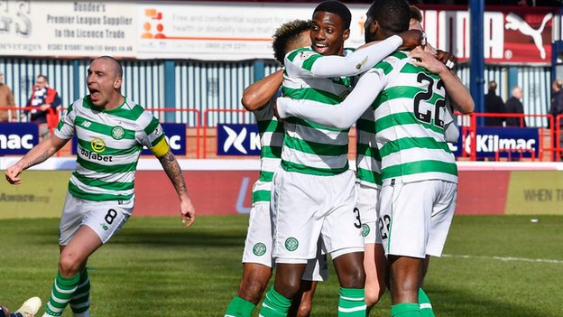 Watch: Celtic's Odsonne Edouard sinks Dundee with late winner
