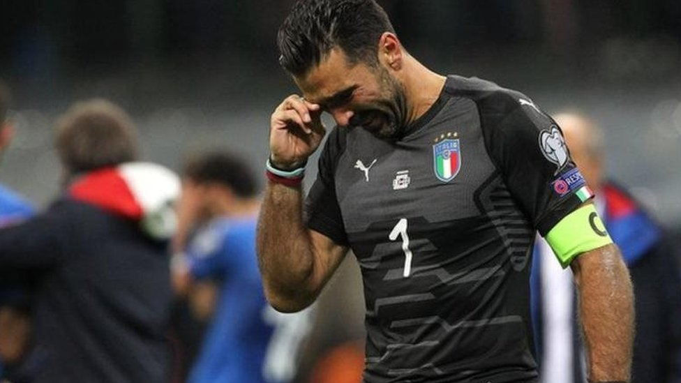 اٹلی 60 برس میں پہلی بار فٹبال ورلڈ کپ میں جگہ بنانے میں ناکام