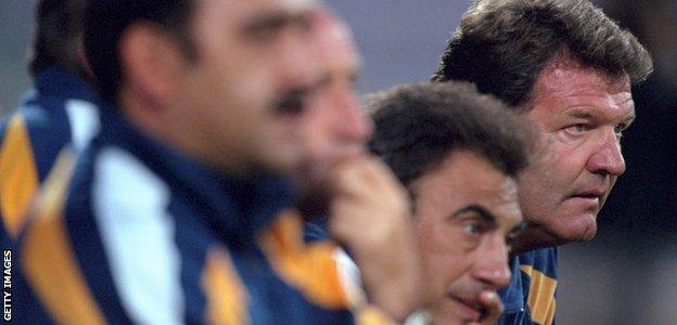 Real Madrid coach John Toshack