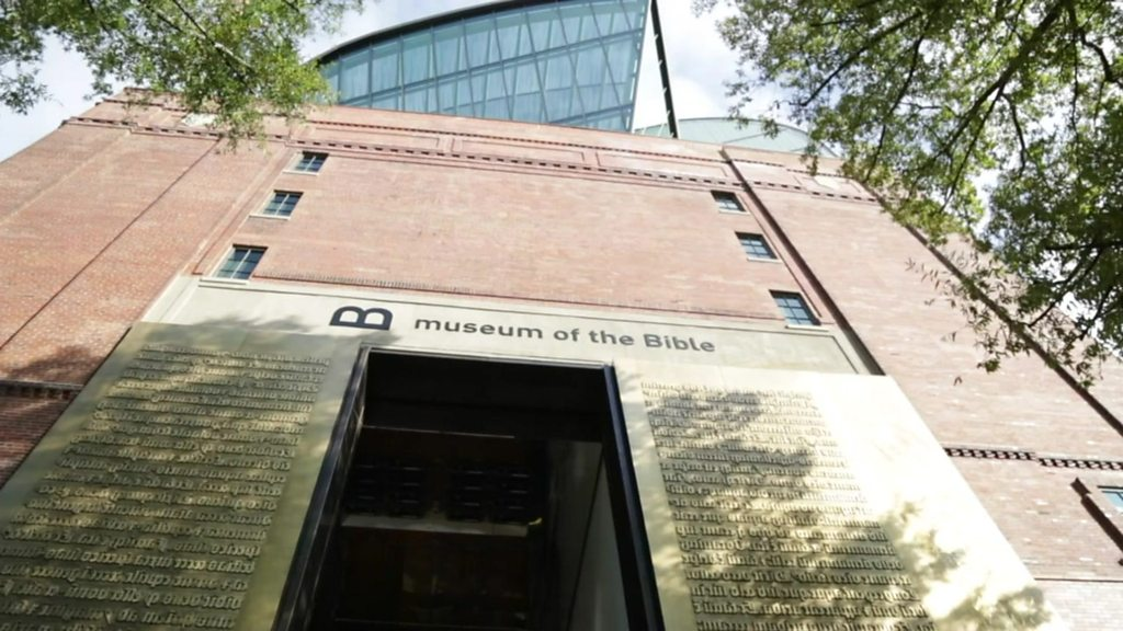 What goes into a museum for the Bible?