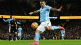 Aleksander Kolarov scores for Man City against Southampton