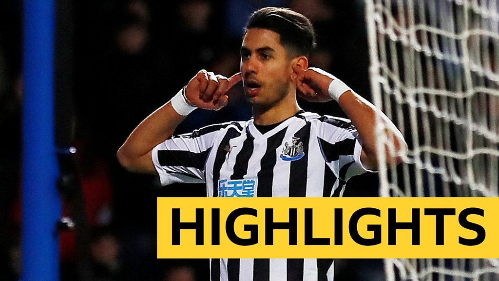 FA Cup: Blackburn Rovers 2-4 Newcastle United (aet) highlights