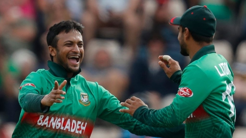 Cricket World Cup: Bangladesh beat Afghanistan to boost semi-final hopes