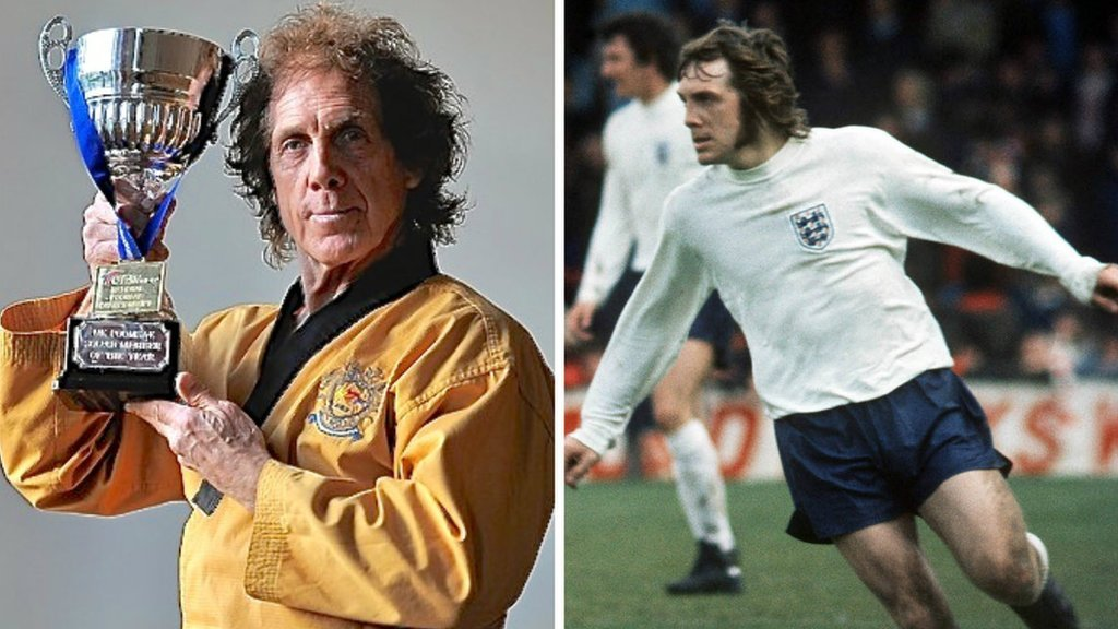How a former England defender now gets his kicks from taekwondo