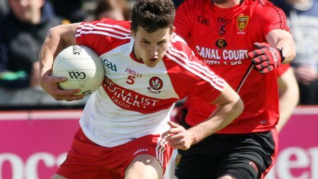 Derry defender Kevin Johnston will miss the rest of the season through injury