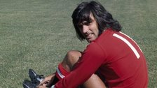 George Best at Old Trafford, 1970