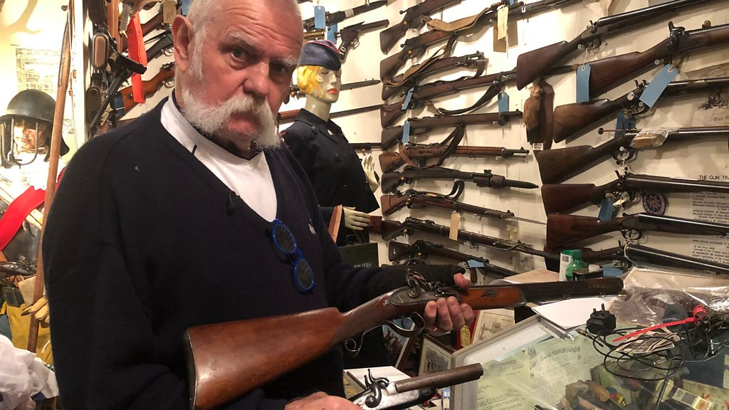 Military 'museum' in Suffolk man's shed includes 1,200 guns