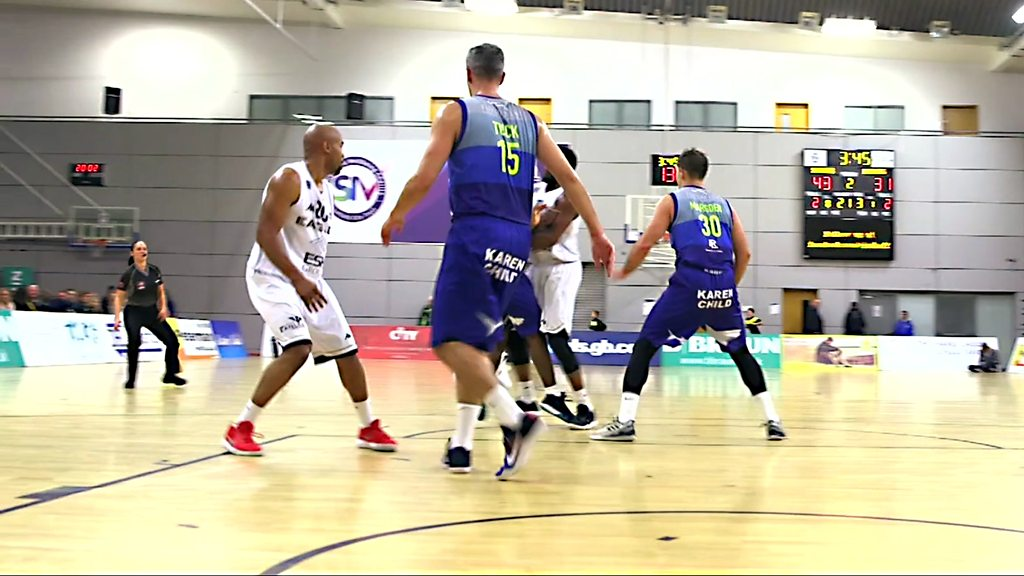 The basketball coverage directed and filmed by AI