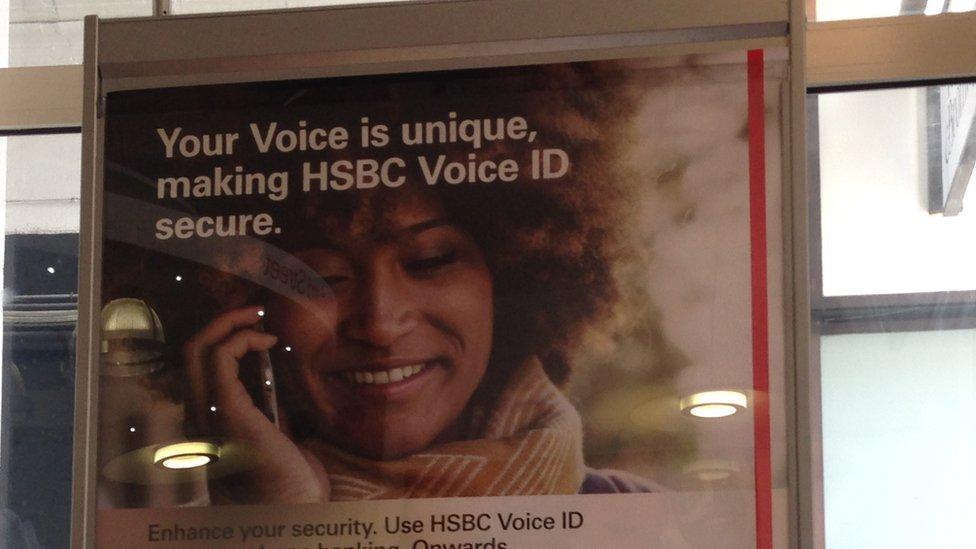 anuncio de HSBC
