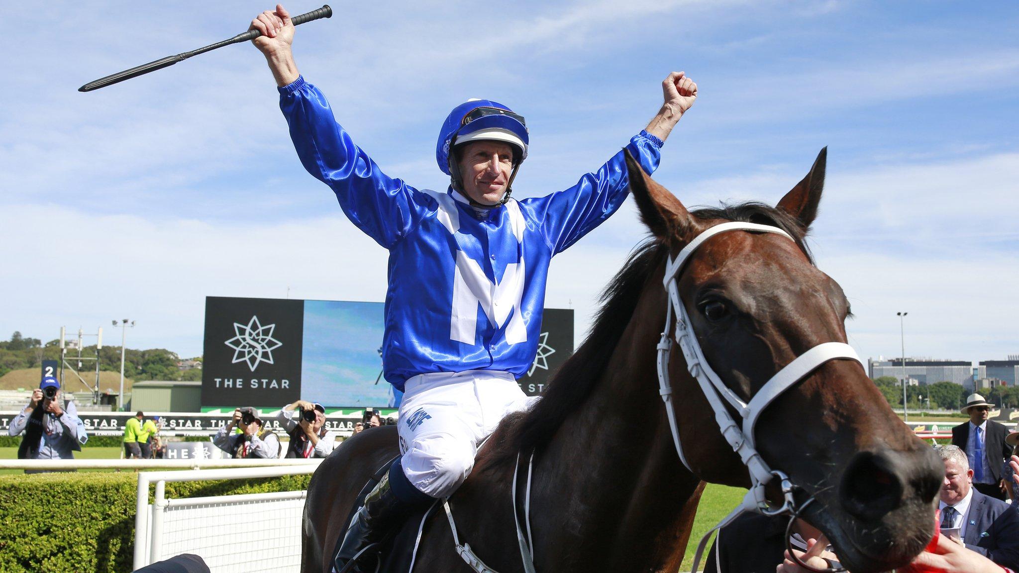 Winx: Australian mare wins 30th straight race in track record time at Randwick
