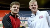 David Goffin and Kyle Edmund