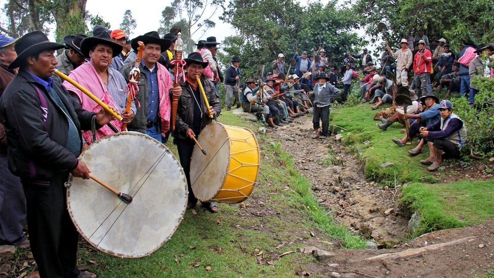 El acceso igualitario al agua y la tierra son pilares del Sistema Tradicional de Jueces de Agua de Corongo. (Foto: Ministerio de Cultura de Perú / Unesco)