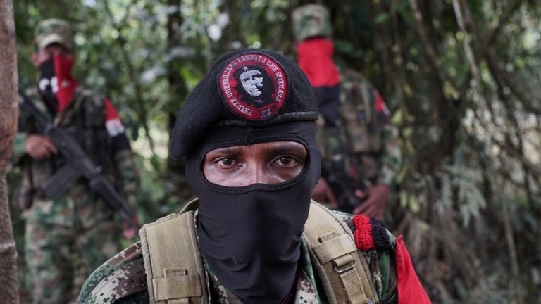 Colombian government and ELN rebels agree ceasefire