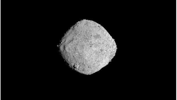 Osiris-Rex: Nasa probe arrives at Asteroid Bennu