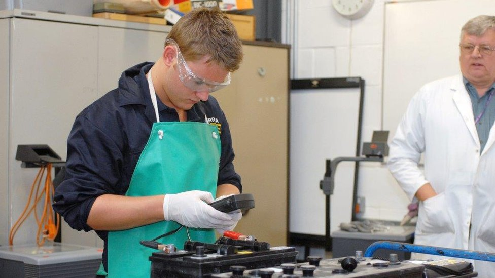 Apprenticeship numbers fall by 59% after levy imposed