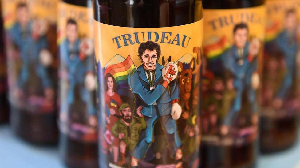 Trump and Trudeau get Ukrainian craft beer named after them