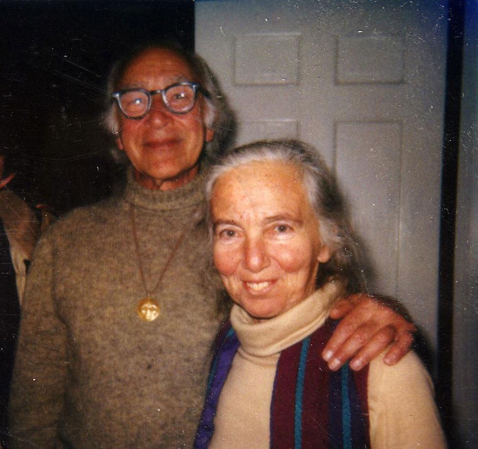 George Wald y Ruth Hubbard