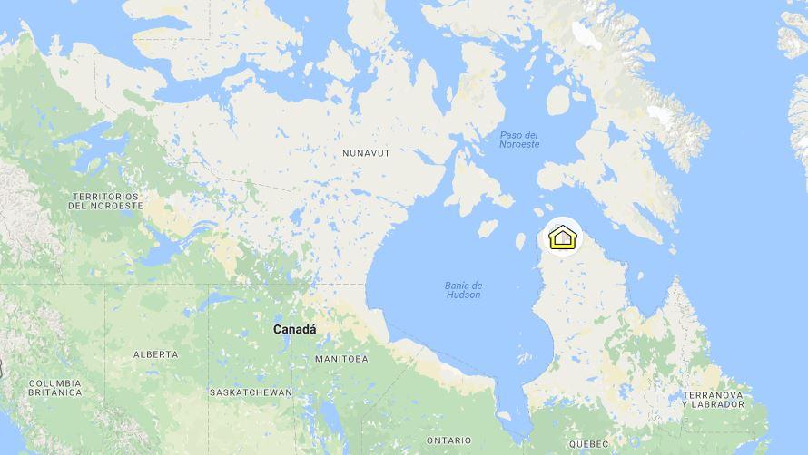 Salluit, la localidad canadiense en el Ártico donde queda la escuela Ikusik.