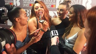 BBC - Newsbeat - Brits gossip: Skepta 'censored' & love for Little Mix