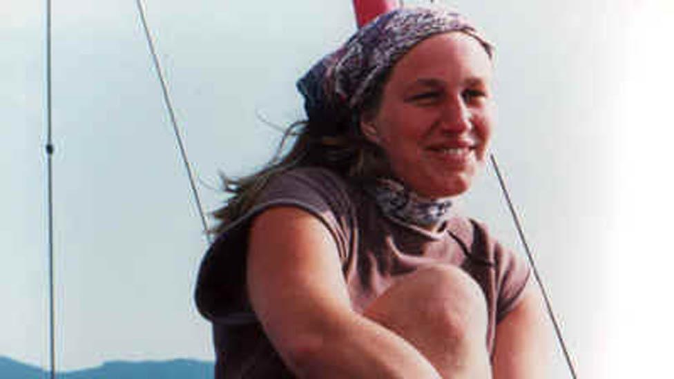 Polly Kitzinger en 1976