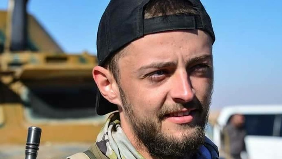 Jac Holmes: Killed fighter 'due to leave Raqqa'