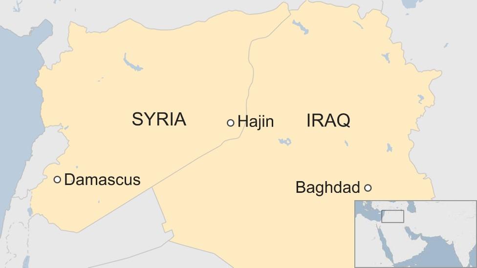 Iraq 'kills 45 IS leaders' in eastern Syria strike
