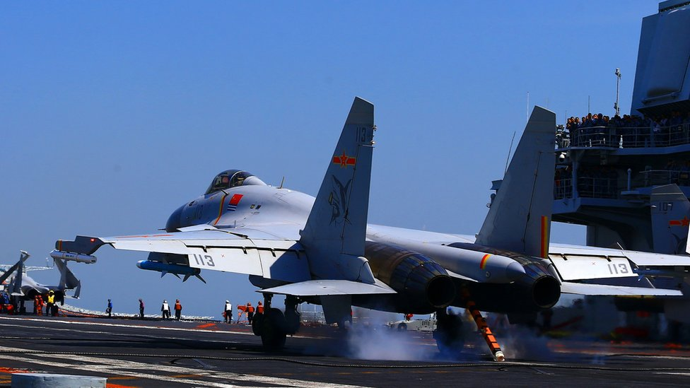 China 'training for strikes' on US targets