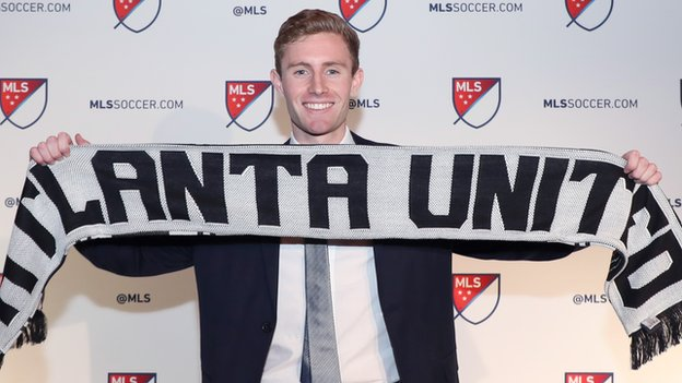 Jon Gallagher: Atlanta United right-back joins Aberdeen on loan