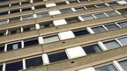Generic image of flats