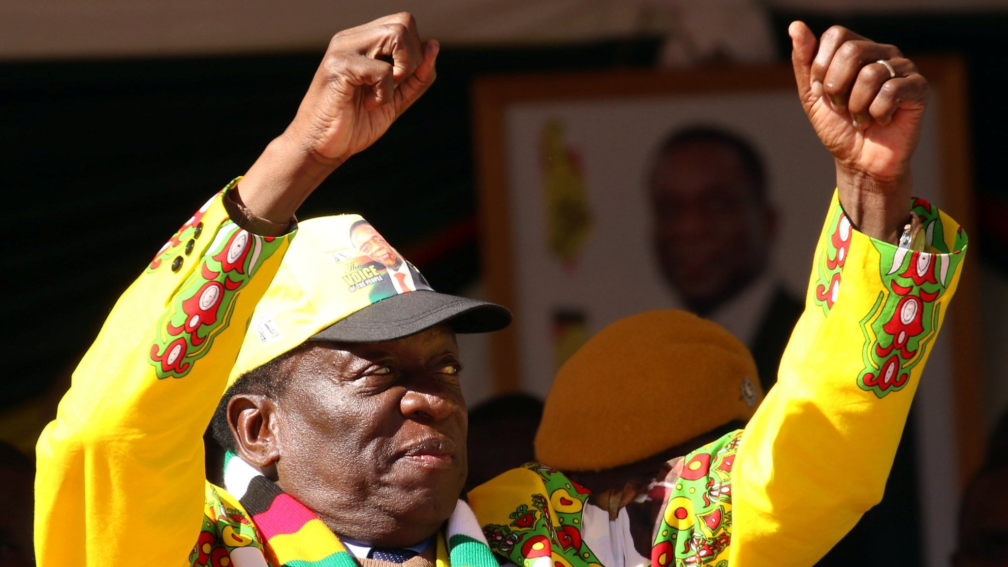 Zimbabwe's President Mnangagwa appeals for racial unity ahead of election