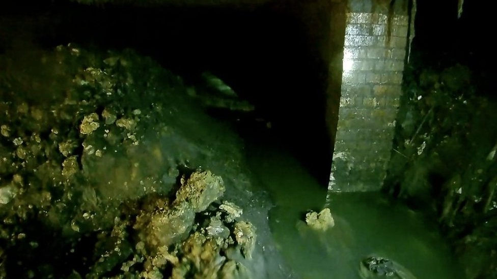 The 210ft fatberg lurking in Sidmouth sewer