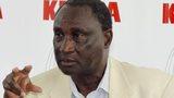 Kenya athletics president Isaiah Kiplagat