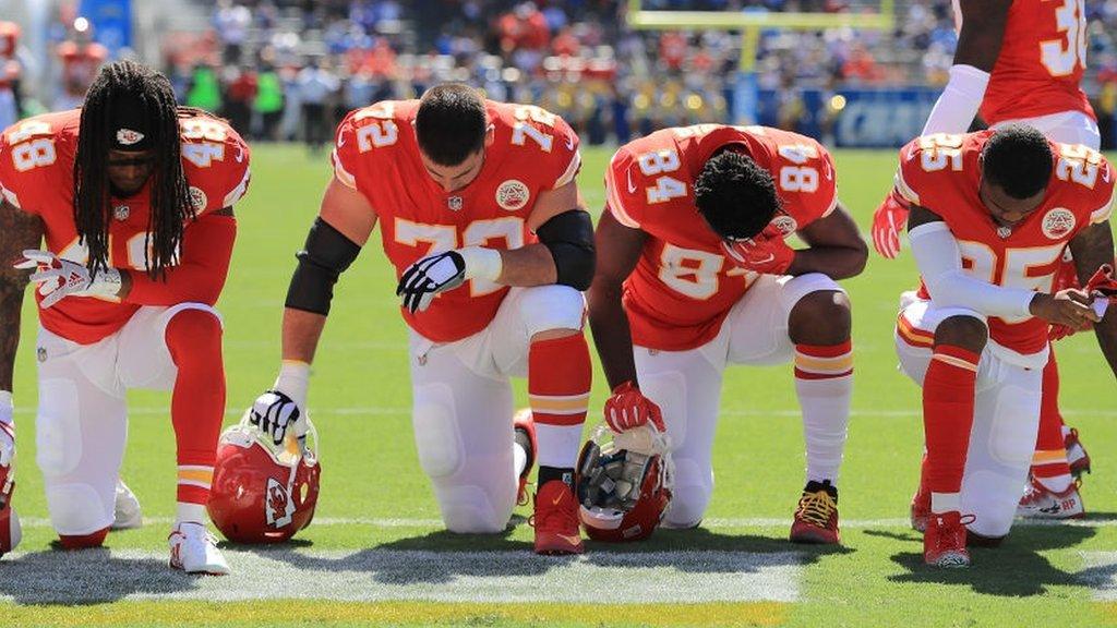 NFL og klubber til at diskutere hymne protest | Verdens nyheder