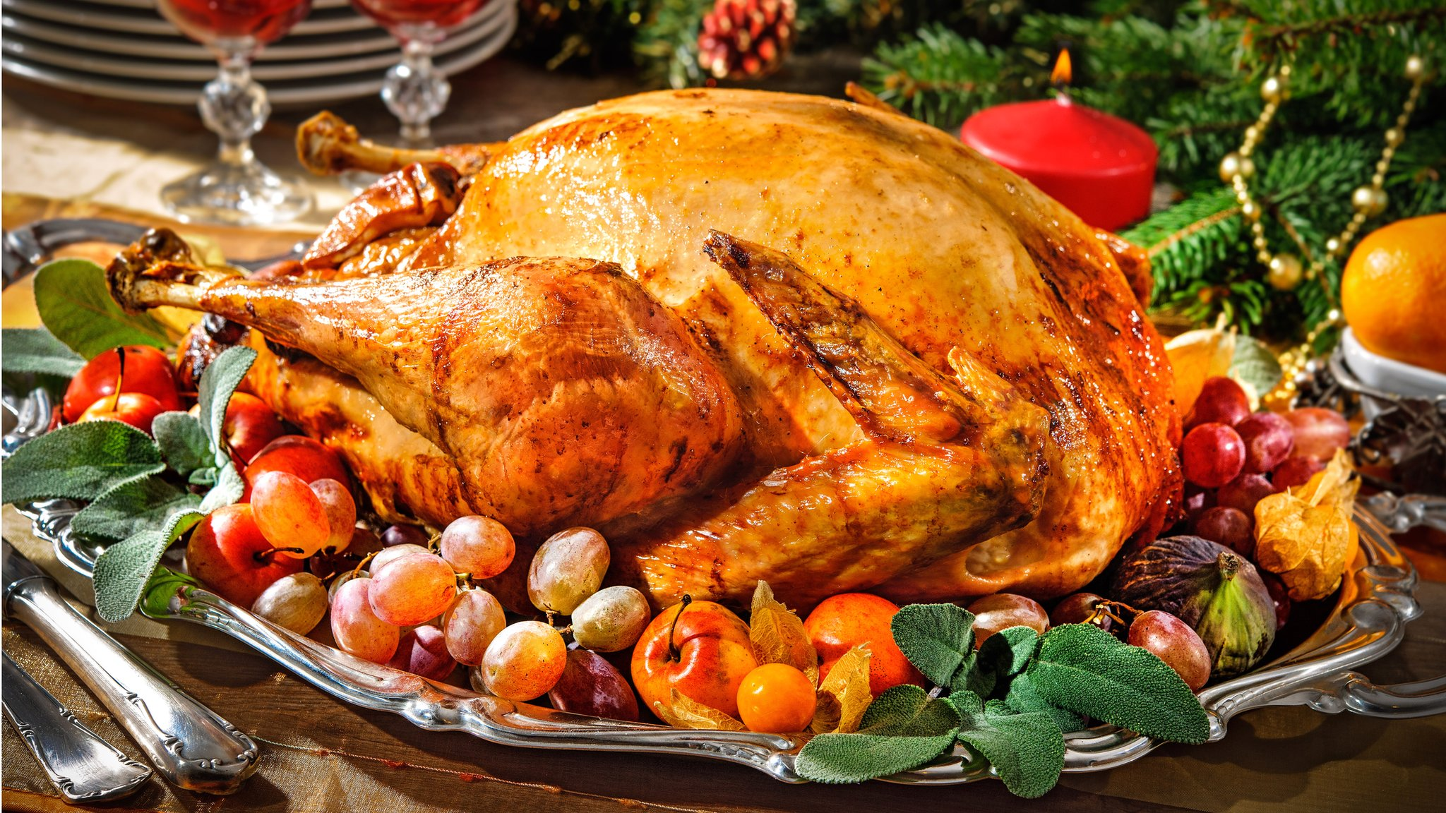 Christmas dinner costs 'rise 14%'